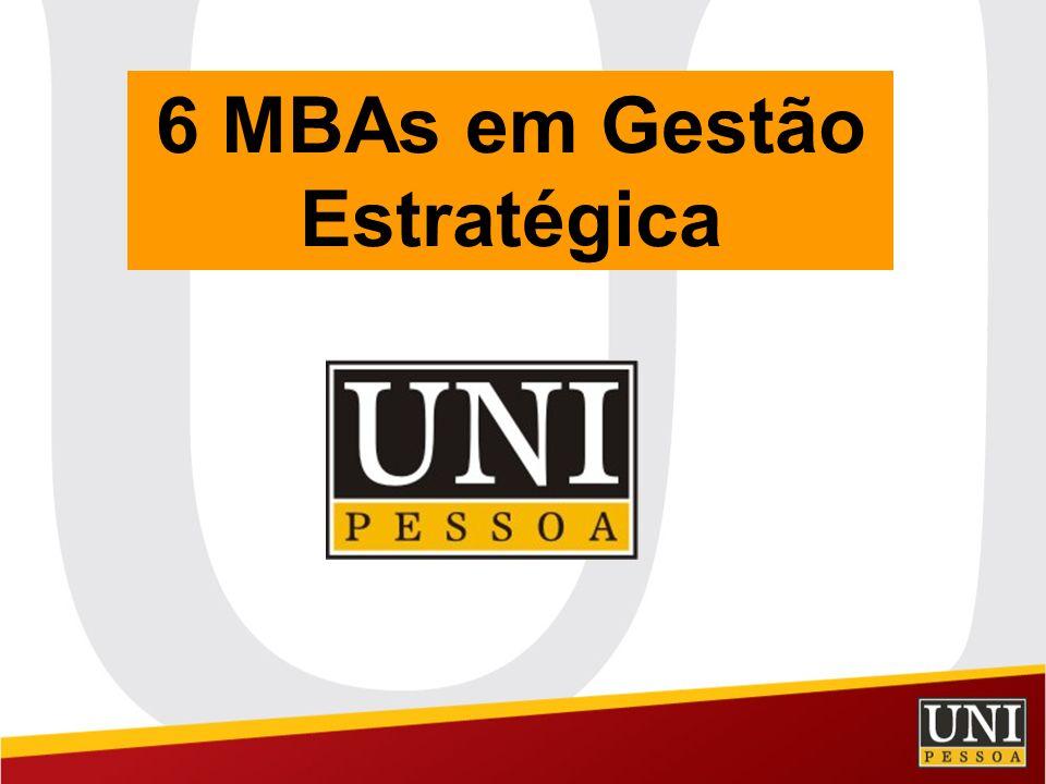 6 MBAs em Gestão Estratégica