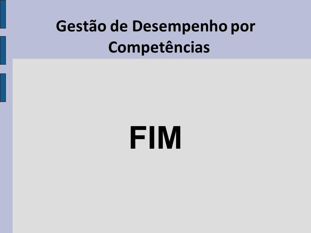 Gestão de Desempenho por Competências FIM