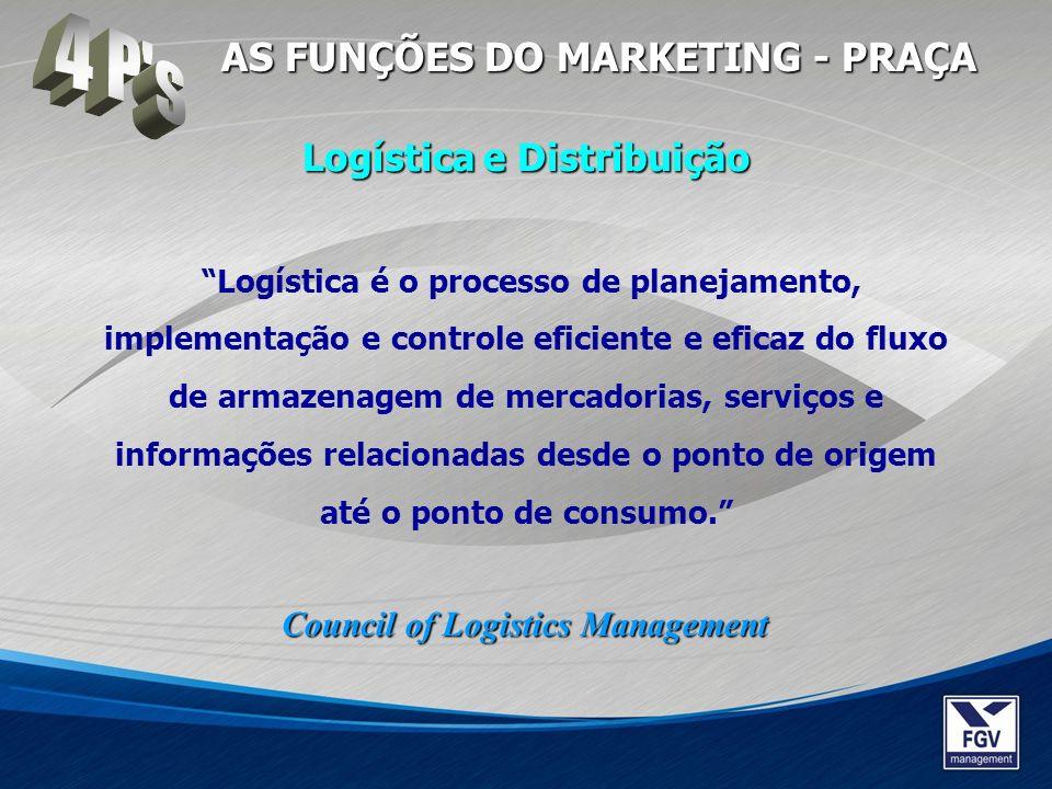 Logística é o processo de planejamento, implementação e controle eficiente e eficaz do fluxo de armazenagem de mercadorias, serviços e informações rel
