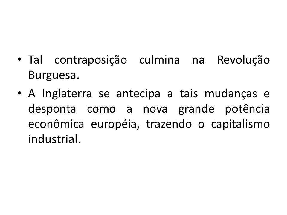 Portugal, que até então era potência econômica, graças às suas colônias, agora se vê em franco declínio.