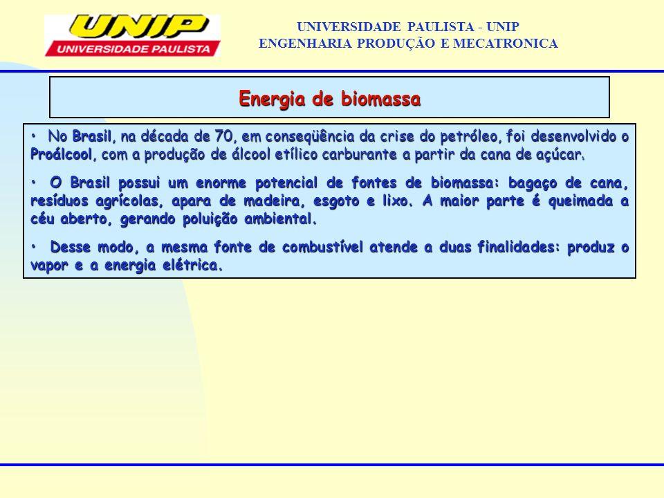 No Brasil, na década de 70, em conseqüência da crise do petróleo, foi desenvolvido o Proálcool, com a produção de álcool etílico carburante a partir d