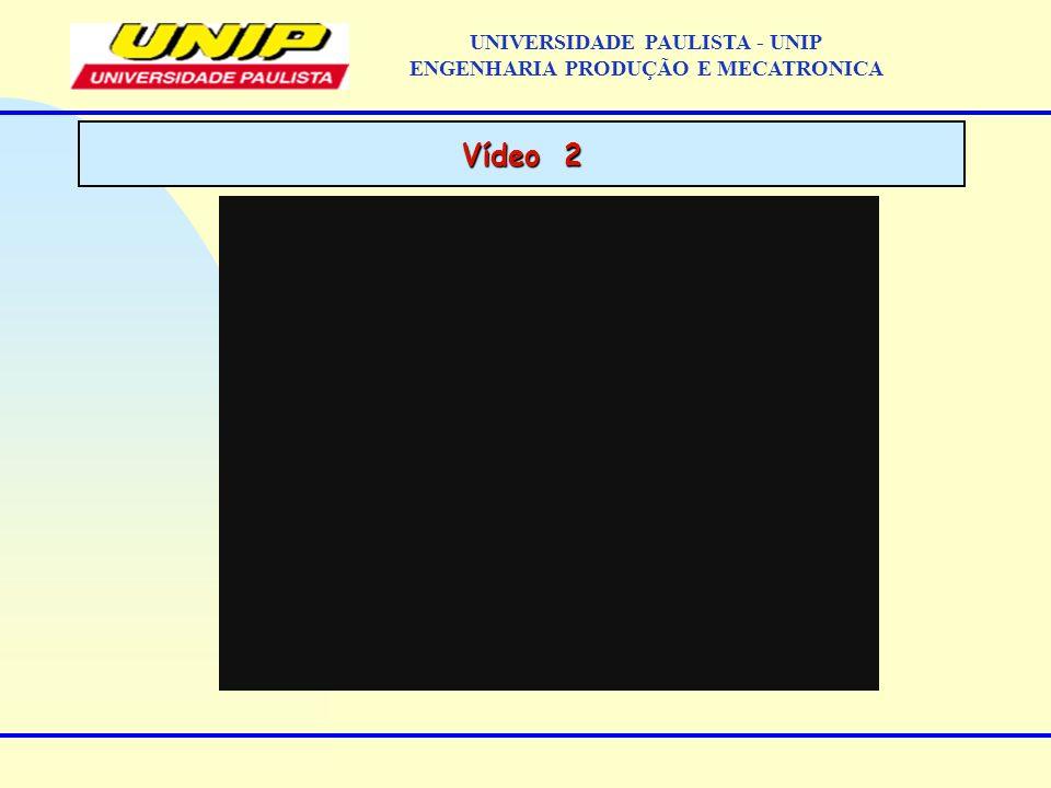 Vídeo 2 UNIVERSIDADE PAULISTA - UNIP ENGENHARIA PRODUÇÃO E MECATRONICA