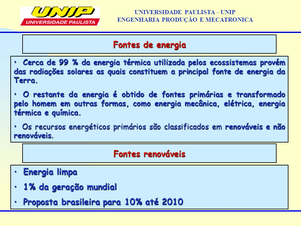 NP2 UNIVERSIDADE PAULISTA - UNIP ENGENHARIA PRODUÇÃO E MECATRONICA