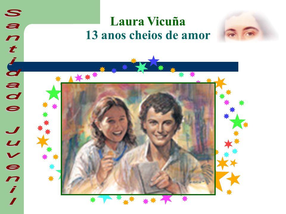 Laura nasce no dia 5 de Abril de 1891 no Chile.É baptizada no dia 24 de Maio desse mesmo ano.