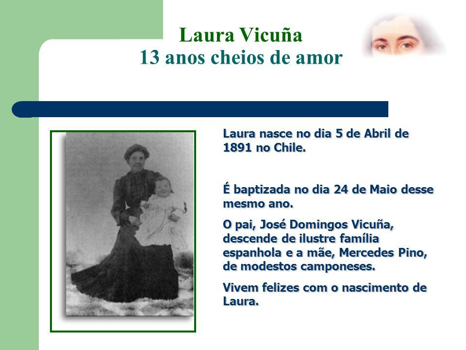 Laura Vicunã 13 anos cheios de amor No Chile a situação é dramática.
