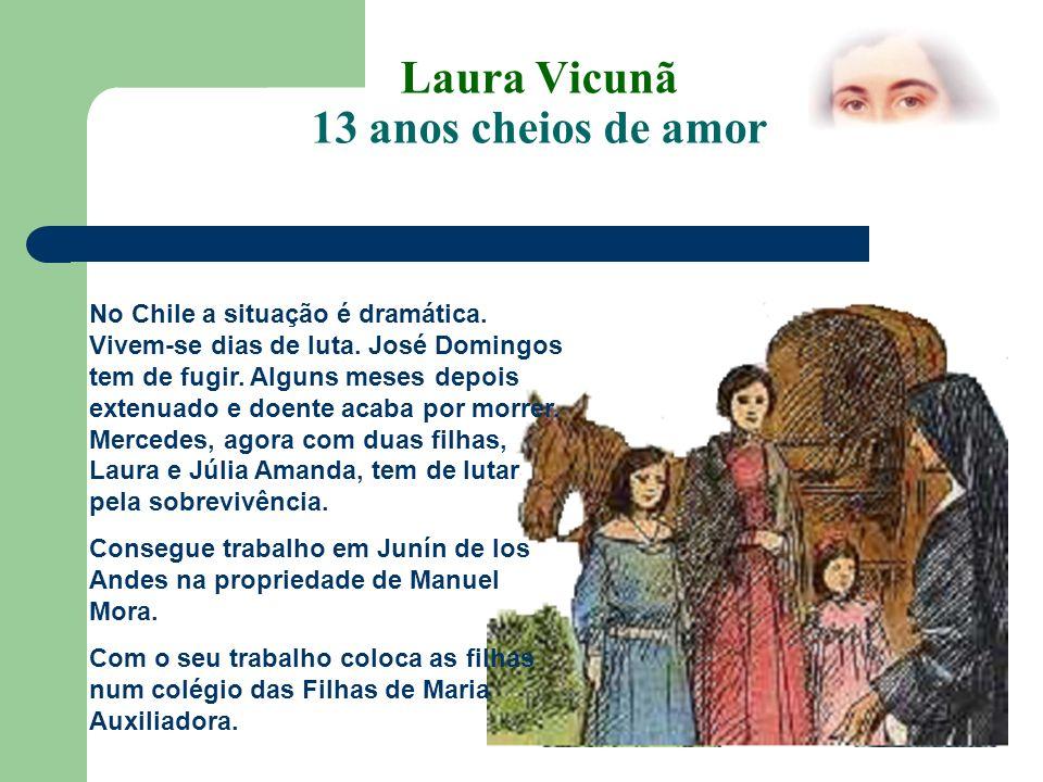 Laura Vicunã 13 anos cheios de amor A separação foi dolorosa, mas depressa se adaptaram àquele ambiente de serenidade…