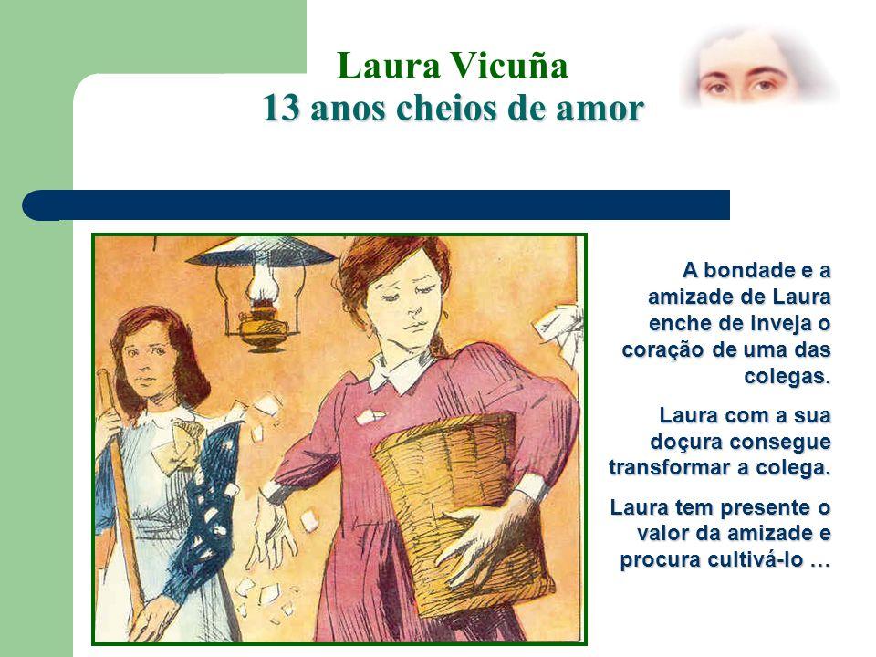 Laura Vicuña 13 anos cheios de amor No dia 8 de Dezembro as melhores alunas podem fazer parte da Associação das Filhas de Maria.