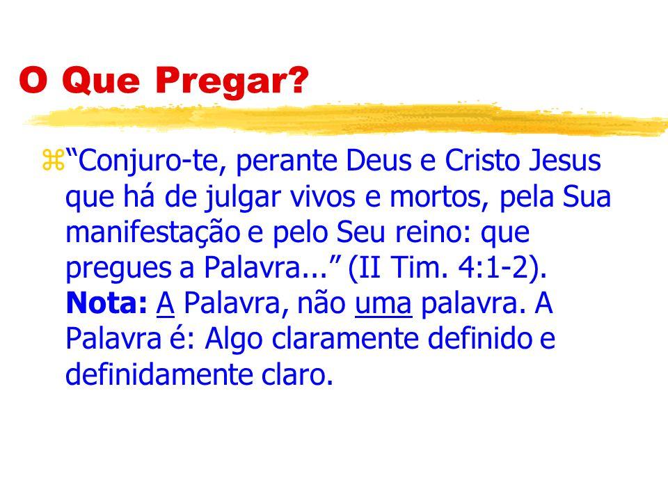 O Exemplo de Paulo zE logo pregava nas sinagogas a Jesus, afirmando que Este é o Filho de Deus (Atos 9:20).