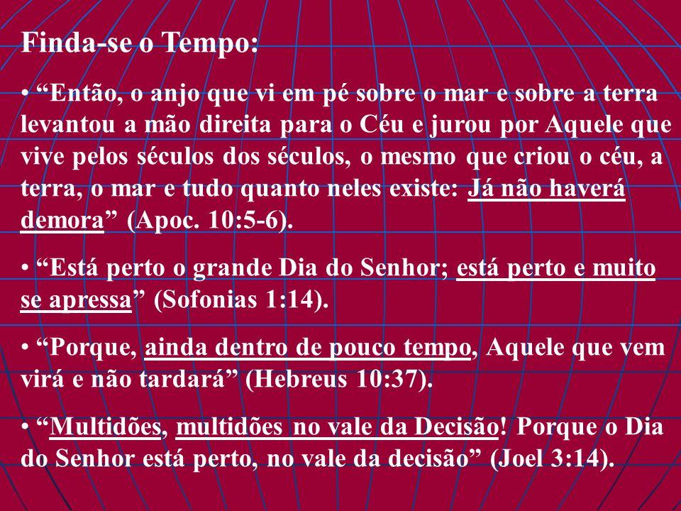 Paixão Pelas Almas Não importa o quão espiritual seja uma congregação: se almas não estão sendo salvas, algo está radicalmente errado, e a pretensa espiritualidade não passa de falsidade, uma ilusão do diabo.