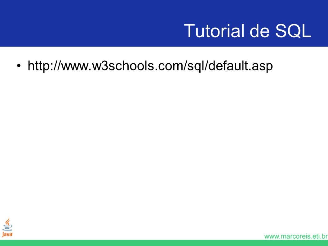 Tutorial de SQL http://www.w3schools.com/sql/default.asp