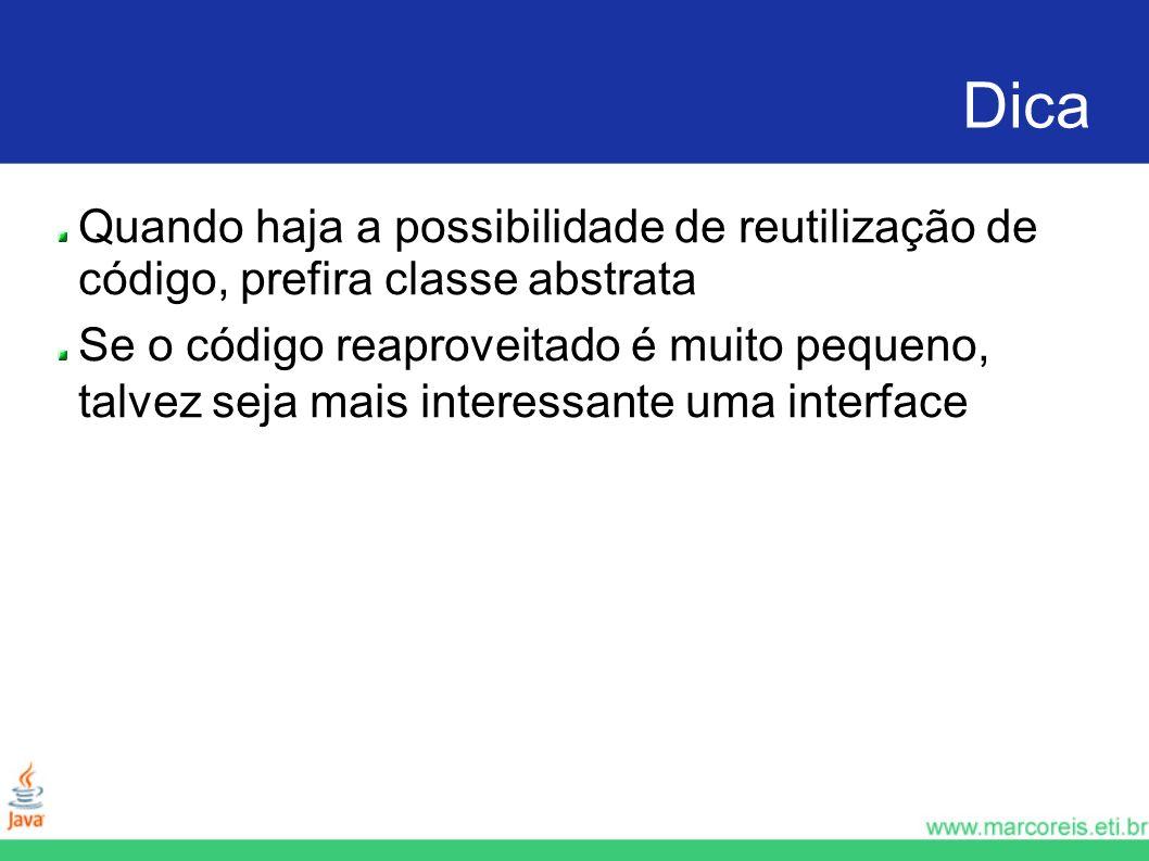 Caminhao package com.javabasico.interfaces ; public class Caminhao implements Veiculo { public int getQuantidadeDePneus() { return 6; } public boolean isVeiculoDePasseio() { return false; } public int getPotencia() { return 130; }