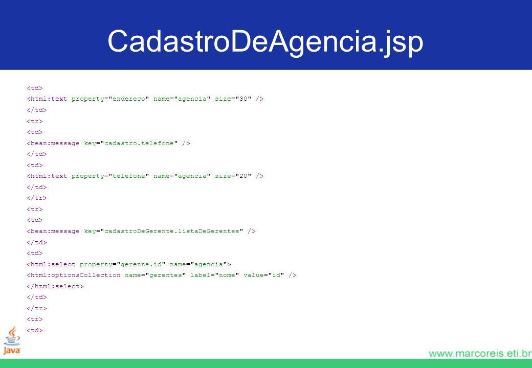 CadastroDeAgencia.jsp