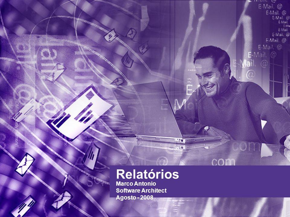 Relatórios Marco Antonio Software Architect Agosto - 2008