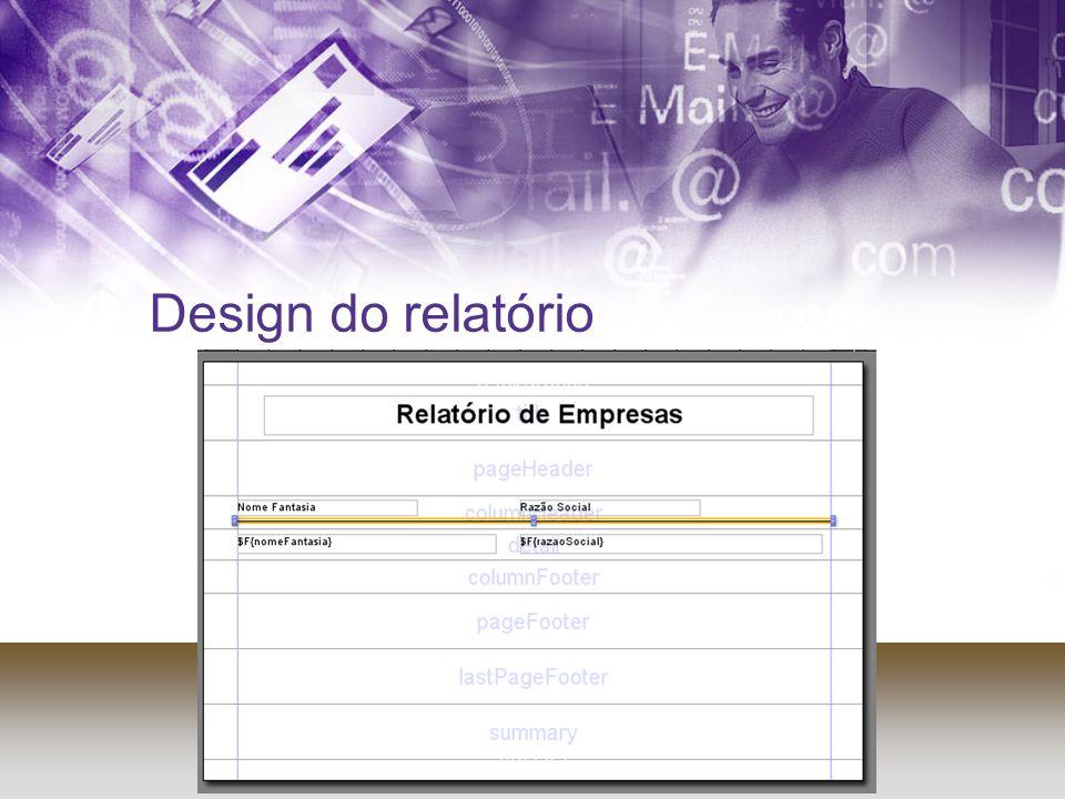 Design do relatório