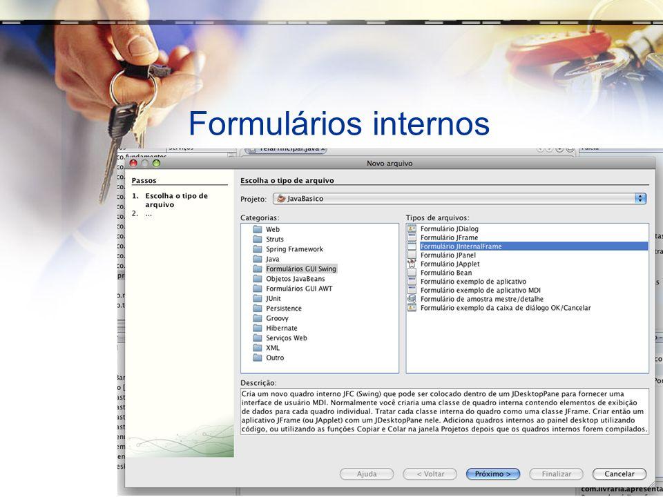Formulários internos