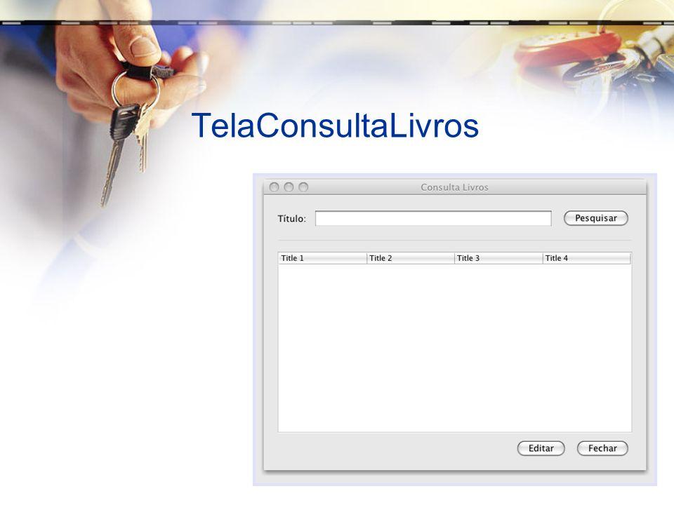 TelaConsultaLivros
