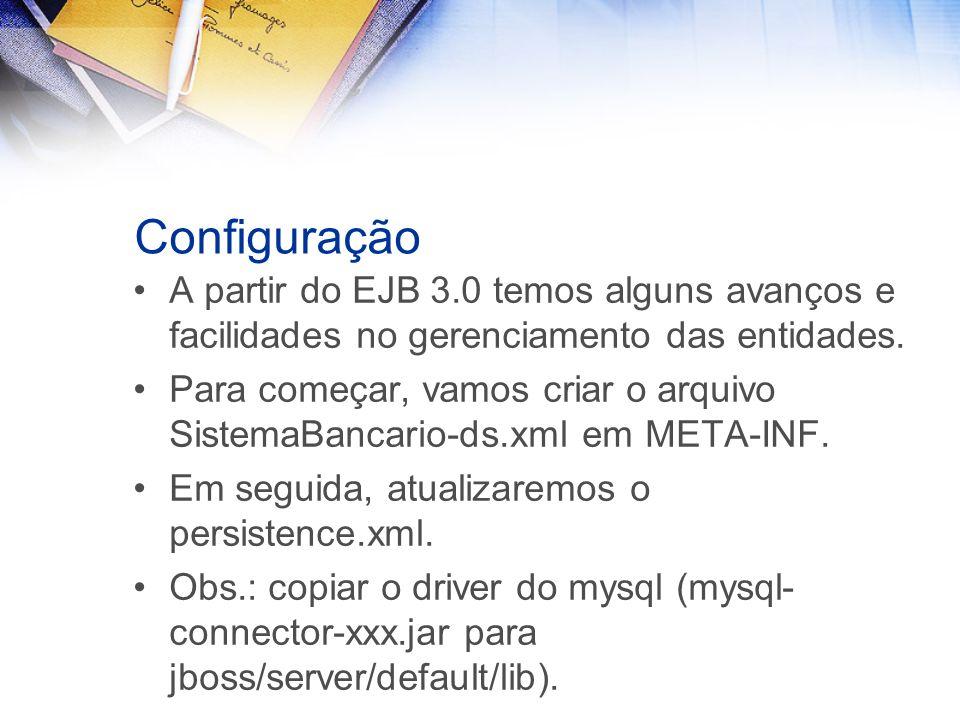 SistemaBancario-ds.xml jdbc/SistemaBancarioDS jdbc:mysql://localhost:3306/financeiro com.mysql.jdbc.Driver root S E N H A 1 2 mySQL