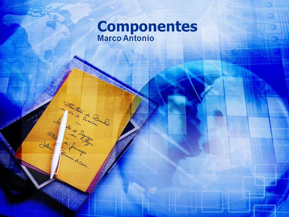 Componentes Marco Antonio