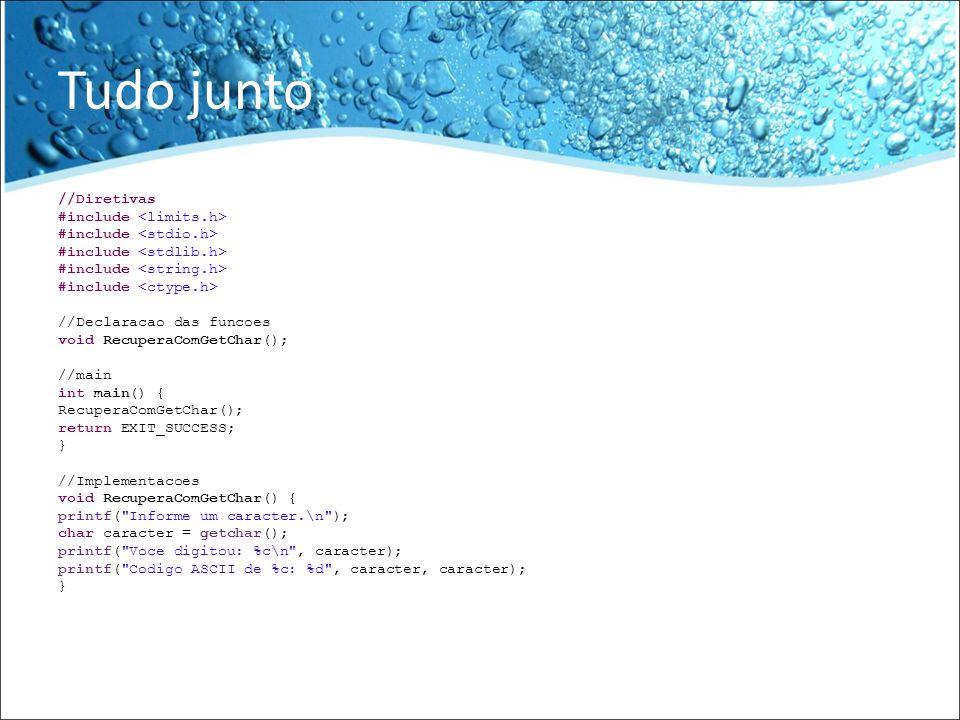 EncontraCaracter void EncontraCaracter() { //Uma frase qualquer char frase[80] = Biblioteca de Programacao em JavaScript ; /* * A frase resultante da consulta * No caso, a frase a partir do caracter P * Teste com outros caracteres e veja o resultado * Dica: frase[80] ou *frase sao exatamente a mesma coisa em C * Dessa forma, todos os programas estao livres para utilizar as duas formas * */ char *resultado = strchr(frase, e ); printf( %s , resultado); }