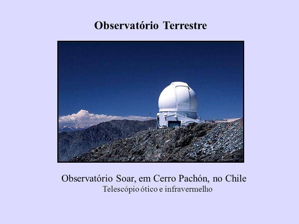 Observatório Soar, em Cerro Pachón, no Chile Telescópio ótico e infravermelho Observatório Terrestre