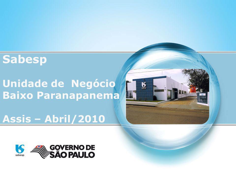Sabesp Unidade de Negócio Baixo Paranapanema Assis – Abril/2010