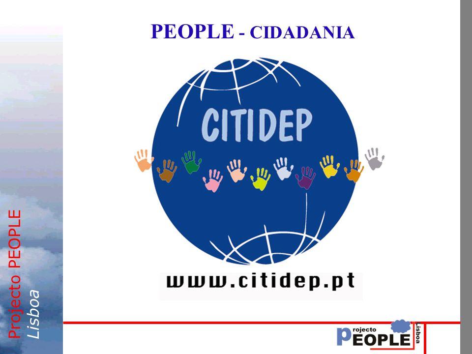 Projecto PEOPLELisboa PEOPLE - CIDADANIA