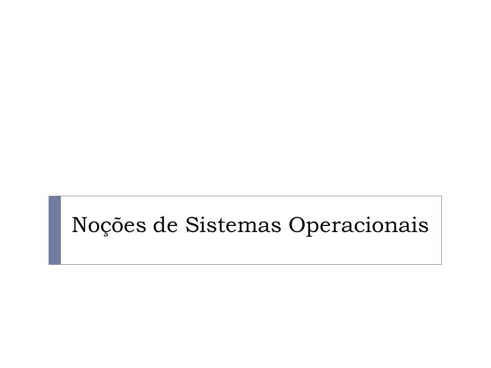 Noções de Sistemas Operacionais