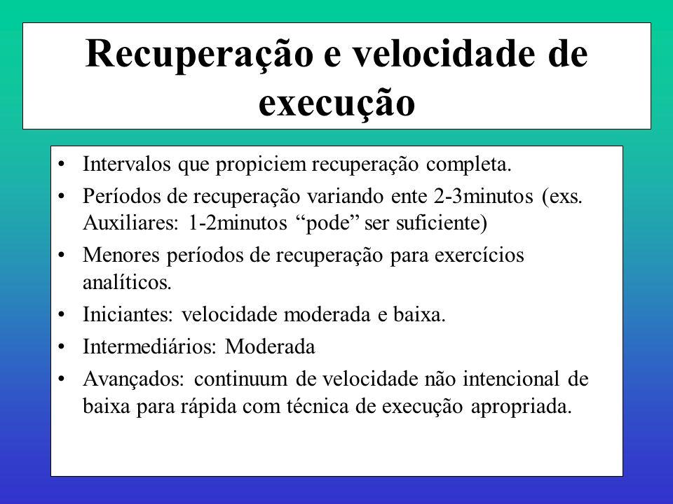 Prof. Ms. Dtdo Alexandre Moreira Componentes do treinamento de força máxima dinâmica Alterações do LOAD afetam as respostas metabólicas, hormonais, ne