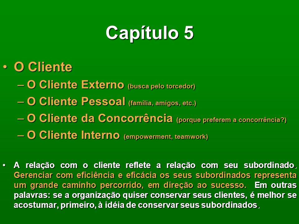 Capítulo 4 Marketing de relacionamento é uma filosofia cujo resultado depende do comprometimento dos dirigentes da empresa e de todos os funcionários.