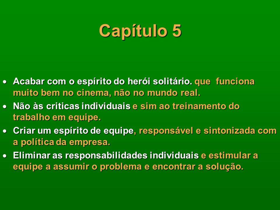 Capítulo 5 O ClienteO Cliente –O Cliente Externo (busca pelo torcedor) –O Cliente Pessoal (família, amigos, etc.) –O Cliente da Concorrência (porque p