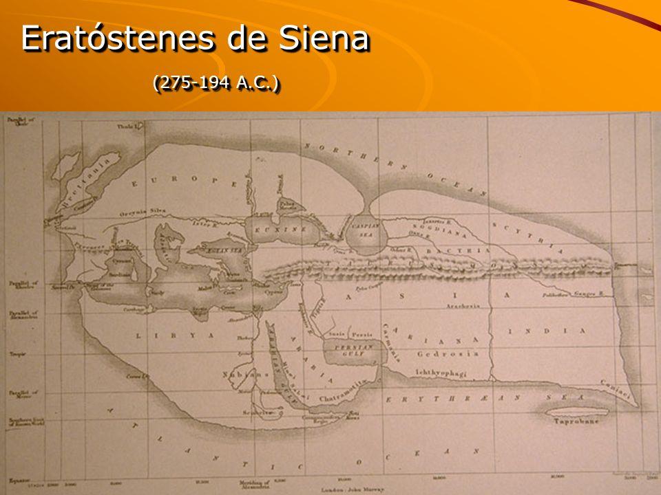 Eratóstenes de Siena (275-194 A.C.) Eratóstenes de Siena (275-194 A.C.)