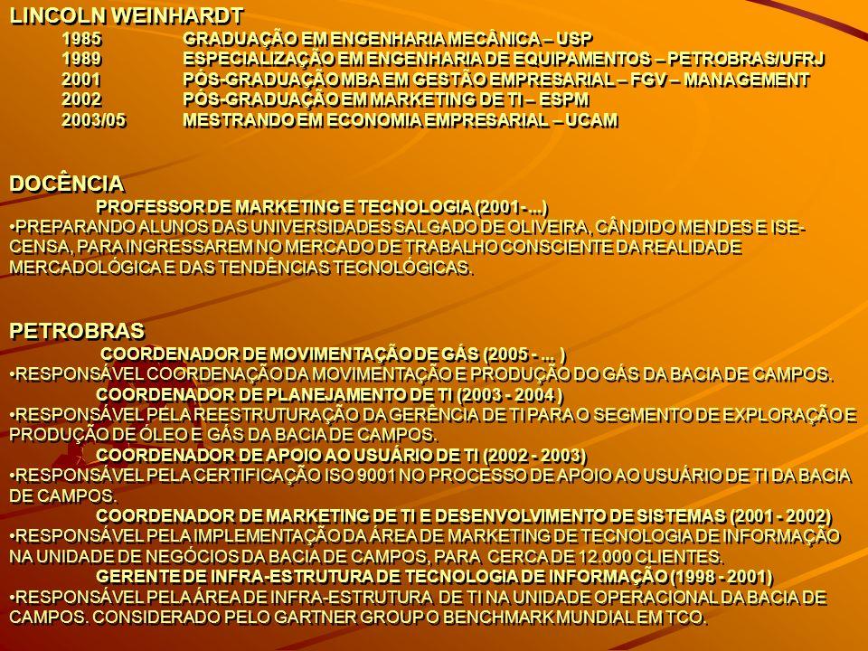 METODOLOGIA METODOLOGIA : O curso ministrado através de slides (MS/PowerPoint), vídeos, aulas expositivas, trabalhos de pesquisa, apresentações dos trabalhos em grupo.