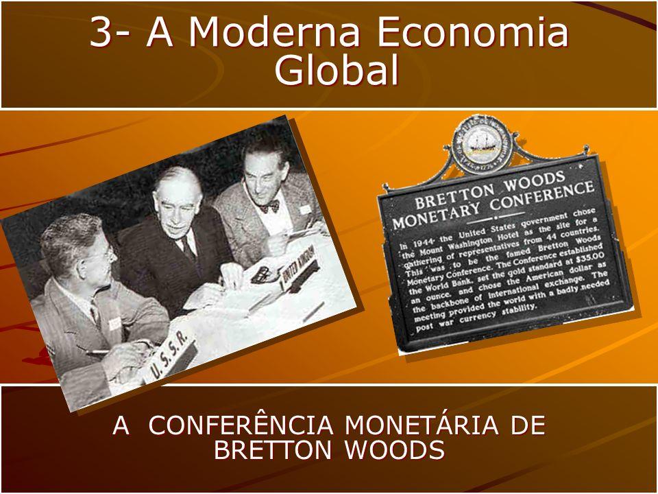 A CONFERÊNCIA MONETÁRIA DE BRETTON WOODS 3- A Moderna Economia Global Global