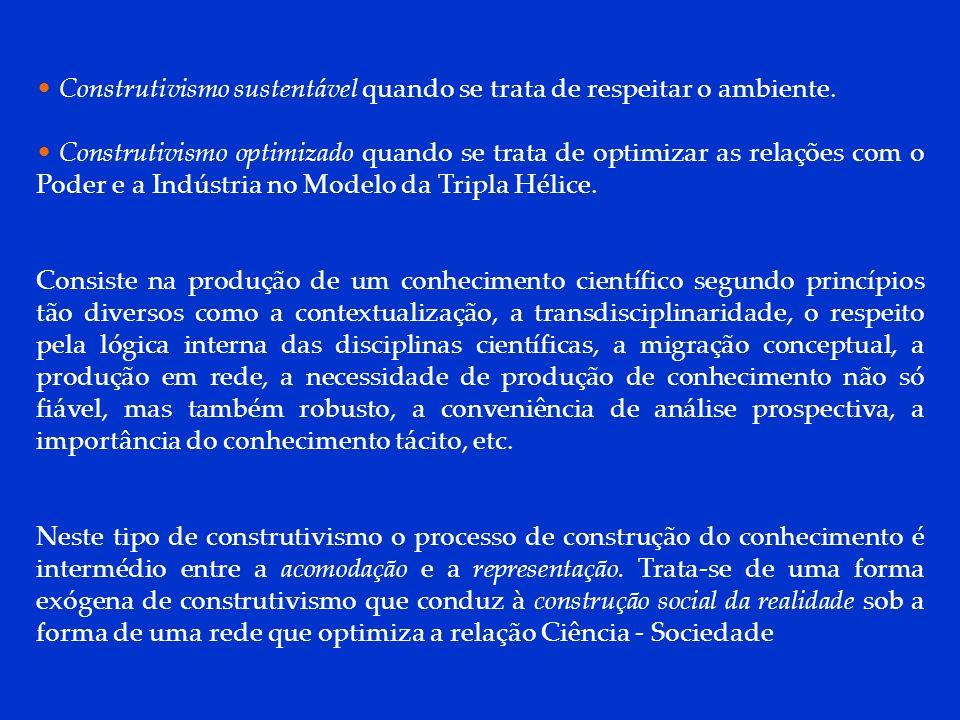 DCP 2006 Construtivismo sustentável quando se trata de respeitar o ambiente.