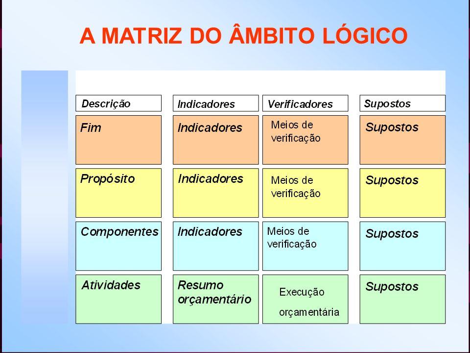 A MATRIZ DO ÂMBITO LÓGICO
