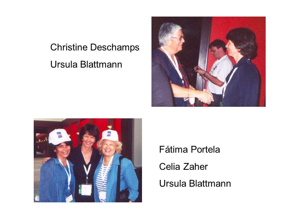 Fátima Portela Celia Zaher Ursula Blattmann Christine Deschamps Ursula Blattmann