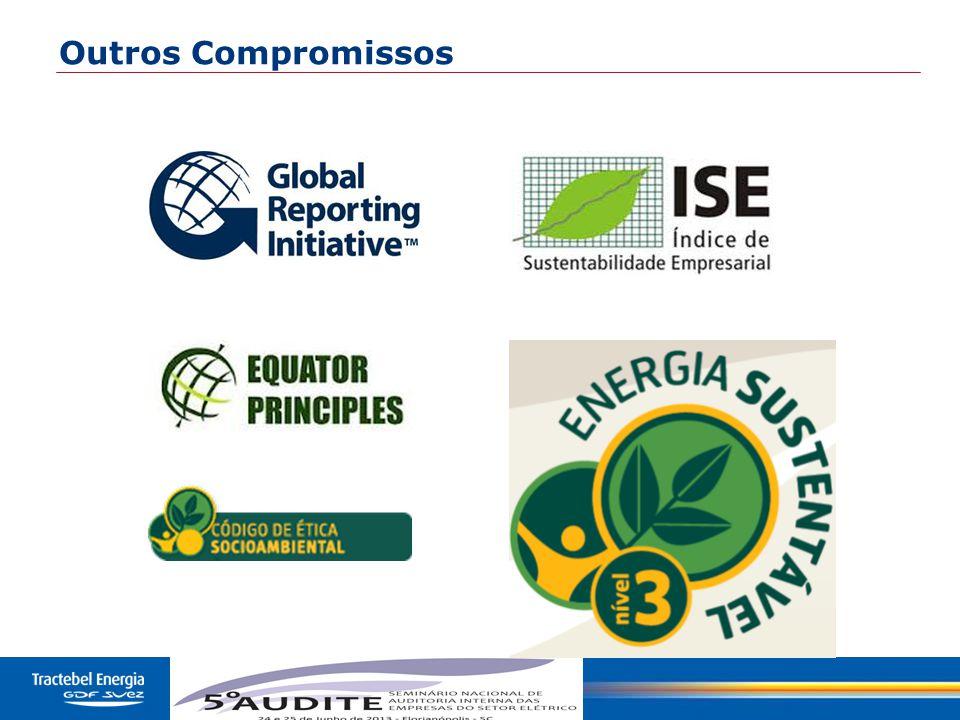 9 Relatório de Sustentabilidade (GRI) TBLE (2008, 2009, 2010, 2011 e 2012 ) TBLE (2007)