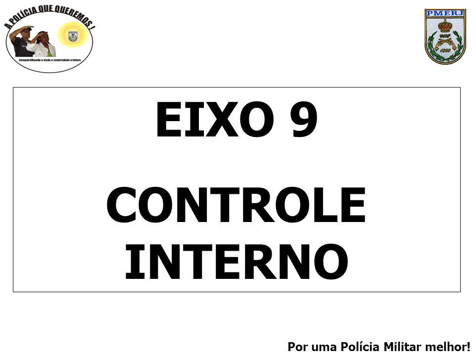 Por uma Polícia Militar melhor! EIXO 9 CONTROLE INTERNO