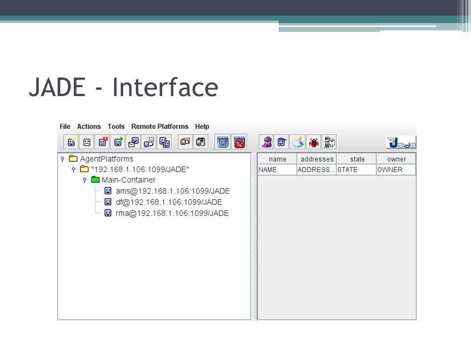 JADE - Interface