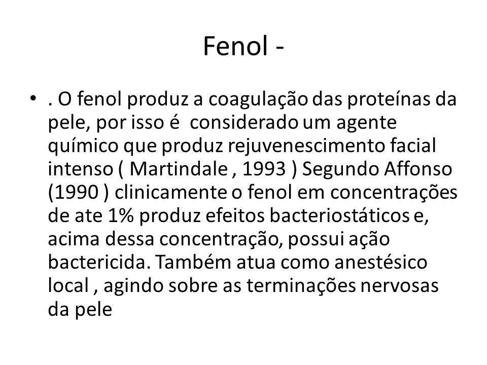 Fenol -.
