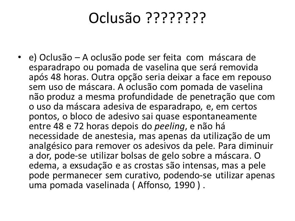 Oclusão ???????.