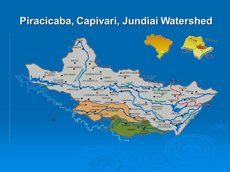 Piracicaba, Capivari, Jundiai Watershed