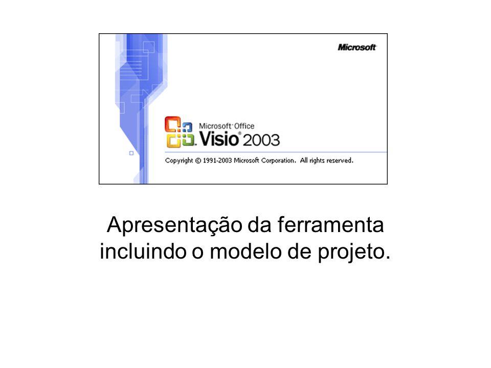 Funcionalidades do Microsoft Visio 2003