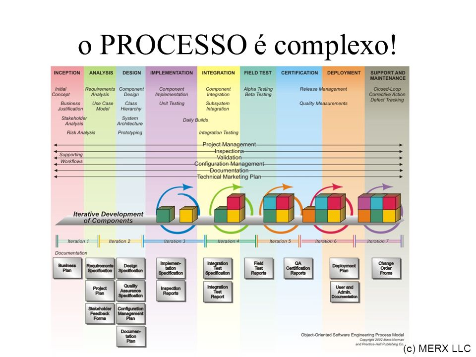 o PROCESSO é complexo! (c) MERX LLC
