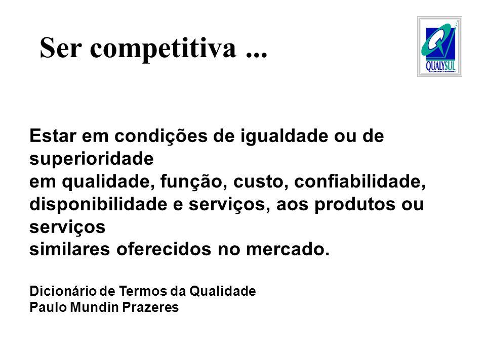 1- Condições exigidas por clientes (Petrobrás, setor automotivo etc).