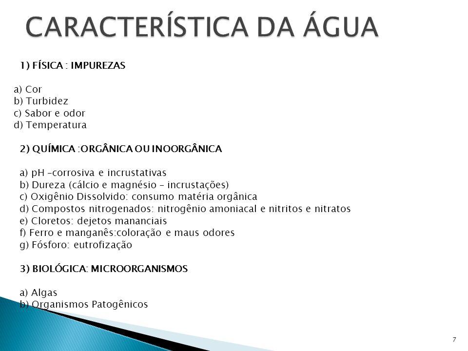 18 - TOMADA DIRETA DE RIOS, LAGOS E AÇUDES (MANANCIAIS DE SUPERFÍCIE)