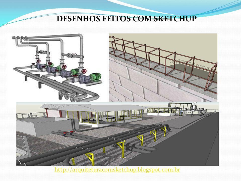 DESENHOS FEITOS COM SKETCHUP http://arquiteturacomsketchup.blogspot.com.br