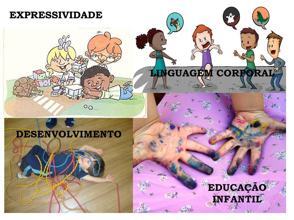 EDUCAÇÃO INFANTIL DESENVOLVIMENTO EXPRESSIVIDADE LINGUAGEM CORPORAL