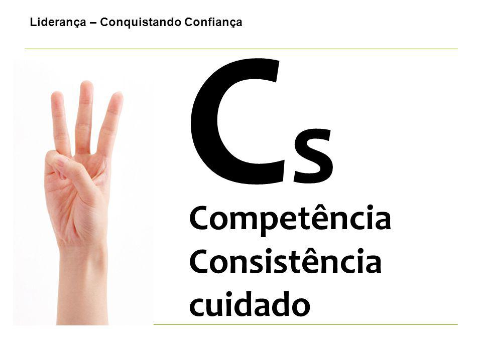 CsCs Competência Consistência cuidado Liderança – Conquistando Confiança