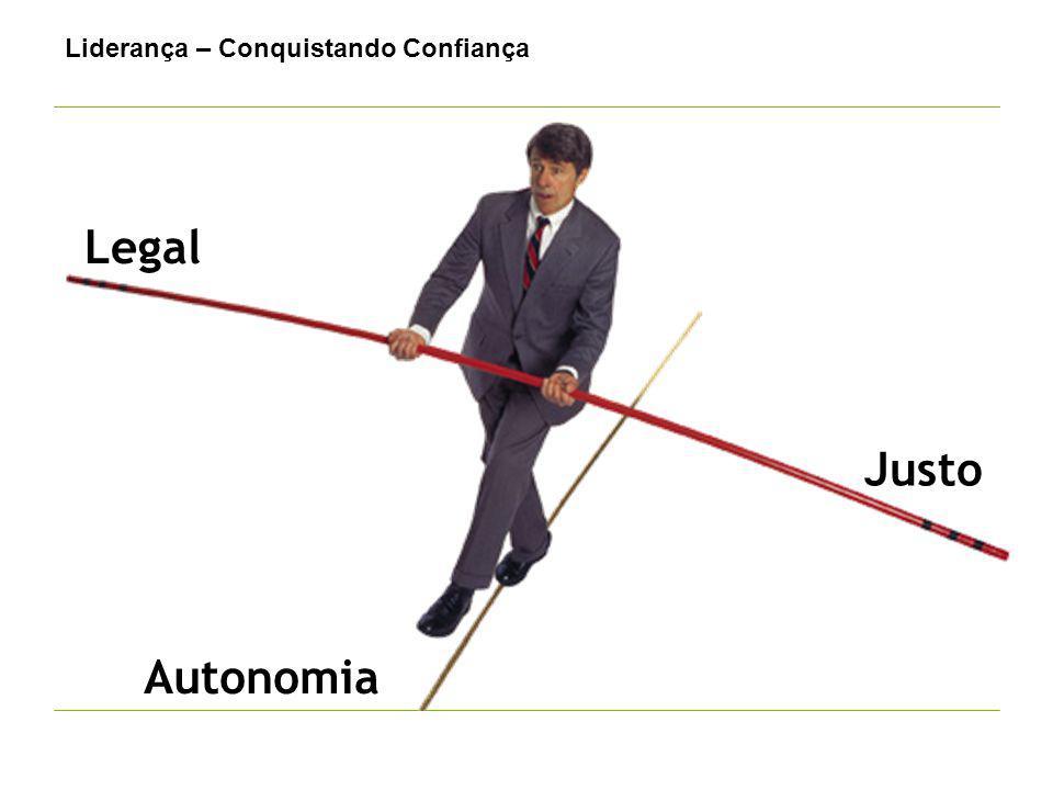 Legal Justo Autonomia Liderança – Conquistando Confiança